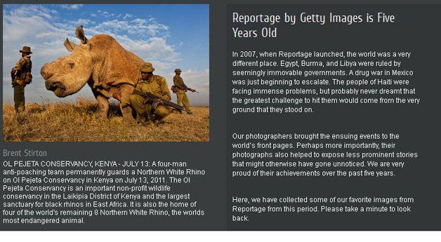 Getty Images, cinque anni di Reportages di fotogiornalismo