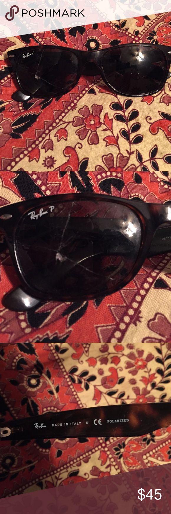 sunglass repair fkos  Gafas De Sol Wayfarer, Mirado En L铆nea, Wayfarer Style, Ban Wayfarer,  Cracked Ray, Sunglass Repair, Bans Tortoise, Sunglasses Genuine, Genuine Ray
