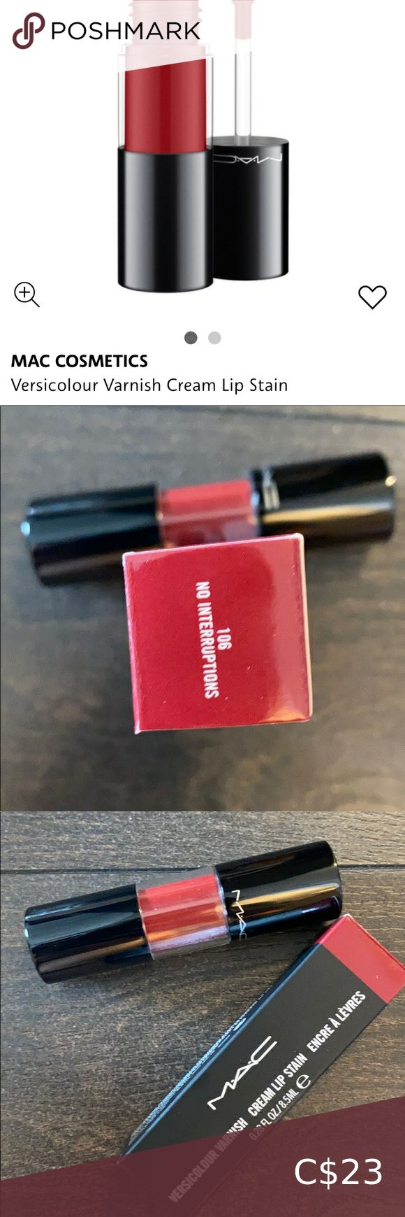 Versicolour varnish cream lip stain in 2020 Cream lip