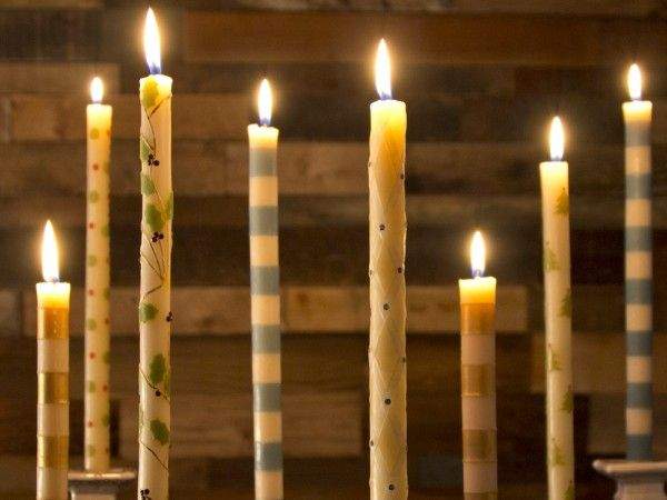 Beeswax Candles by Et Al