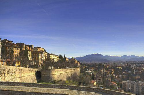 Bergamo, Citta Alta by baswallet, via Flickr