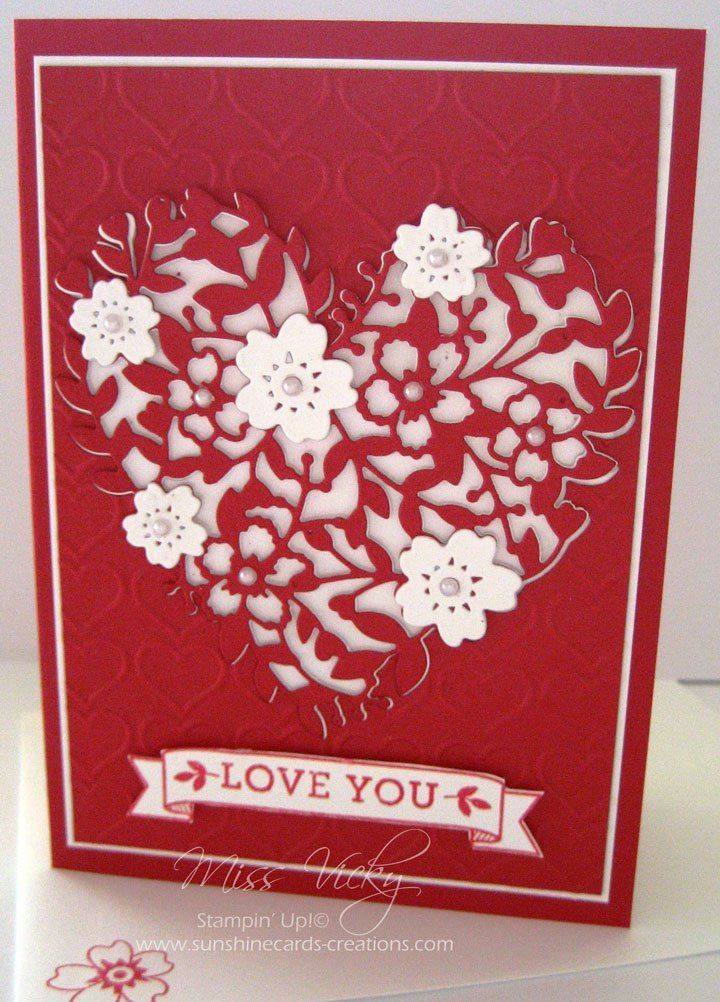 2016 occasions catalogue love card bloomin love stampin up