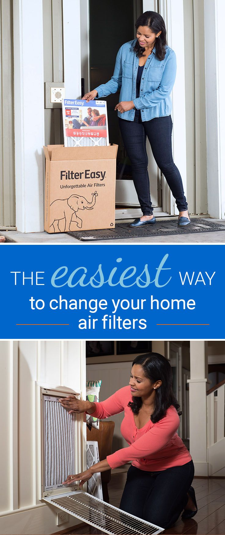 Meet FilterEasy—Air Filters Delivered When it's Time to Change Them