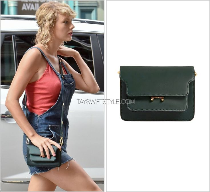 Arriving at her apartment | New York City, NY | August 8, 2016 Marni 'Mini Trunk Leather Shoulder Bag' - $1,820.00 Green. Bag. For TSS-ers who know me - that is where my thoughts started and stopped. My obsession with green can't be tamed. Worn with:...