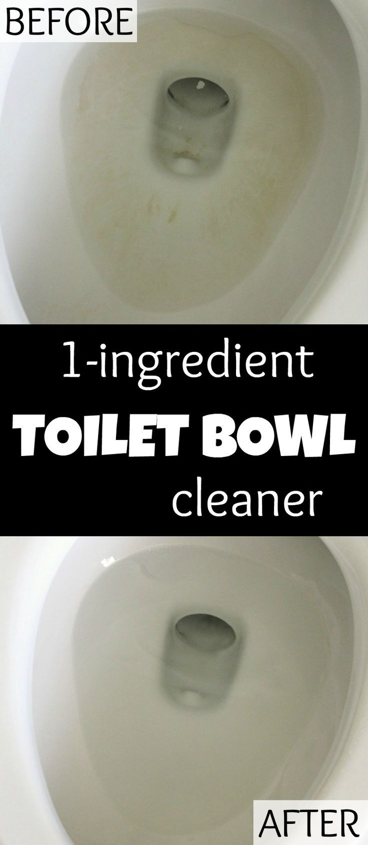 You will be absolutely amazed at this 1-Ingredient Toilet Bowl Cleaner. Let it…
