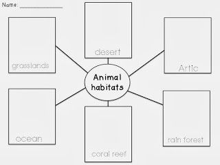 Animal Habitats on Desert Pre Worksheet Best Free Printable