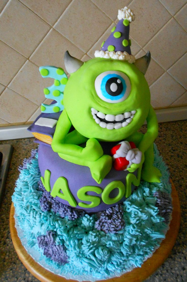 "torta di compleanno ""Monster University"""