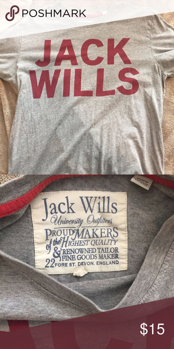 Jack Wills t shirt Jack Wills T shirt. Size M. Jack Wills Shirts Tees - Short Sleeve
