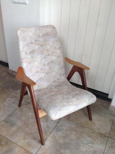 Te koop vintage fauteuil, mooie staat, nette bekleding