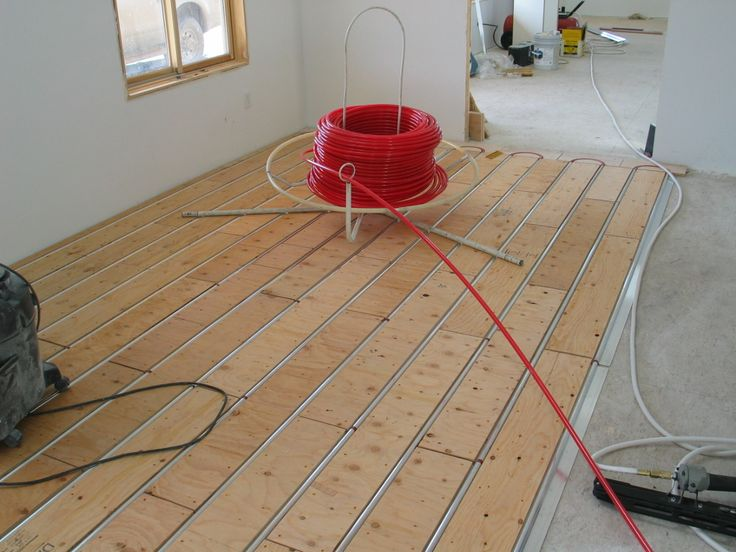 149 best radiant heating images on pinterest engineering for Best flooring for hydronic heat
