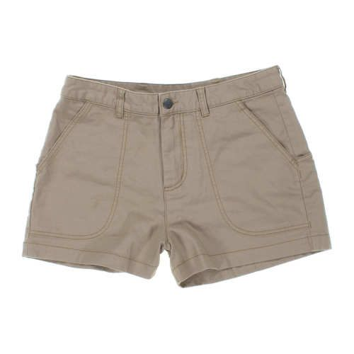 $40 Worn Wear® W's Stand Up Shorts - Used, Mojave Khaki, Spring 2017 || WornWear.com is an online store for used Patagonia clothing – helping clothes that sit idle in closets make their way back into the field, instead of the landfills. If you need a garment, you can buy used on WornWear.com (or new on Patagonia.com). If you are no longer using a piece of Patagonia clothing, trade it in at a Patagonia store and receive credit to put towards a used or new Patagonia product. Visit…
