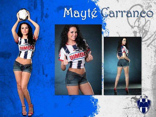 Mayte Carranco Bikini | Mayté Carranco. - Toda la suerte para los rayados del monterrey ...