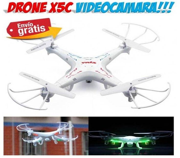 #drone #radiocontrol #juguetes #helicopteros #aeromodelismo #tienda #yougamebay Comprar Drone Syma X5C radiocontrol RC con videocamara HD. Venta online de helicopteros quadcopter teledirigidos por radiocontrol.  http://www.yougamebay.com/es/list/category/coches_y_helicopteros_radio_control