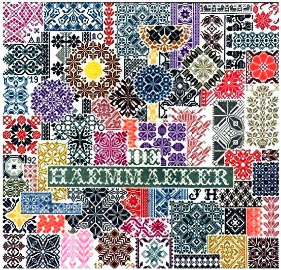 Patchwork Sampler - Jan Houtman - $18