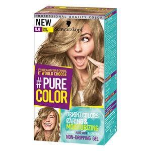 Schwarzkopf  PURE COLOR 8.0 True Blond Permanent Gel Coloration ... b4b1788b0c