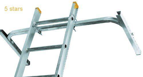 Louisville Ladder LP-2210-00 Adjustable Aluminum Ladder Stabilizer