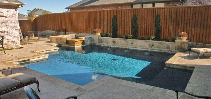 16 best custom inground pool designs images on pinterest for Design pool klein