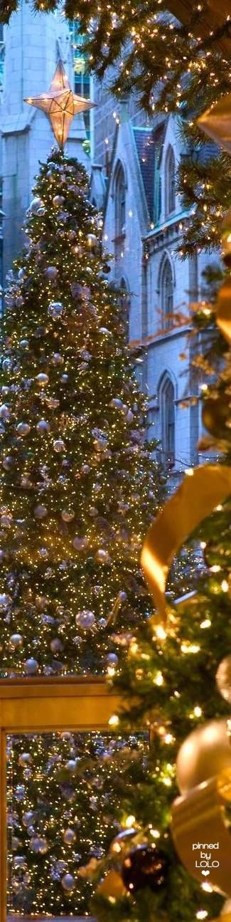 Lotte New York Palace Hotel & 2932 best CHRISTMAS images on Pinterest | Christmas decor Christmas ...