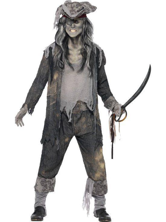 Spookschip Piraat kostuum | Piraten verkleedkleding maat XL-XXL