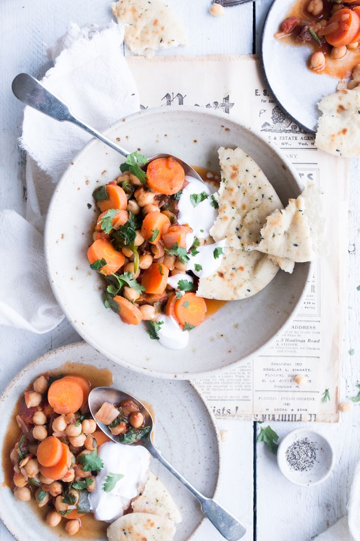 Moroccan chickpea stew - The Little Plantation blog
