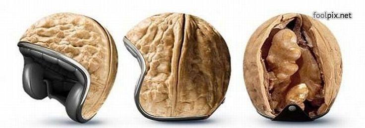 Необычные и прикольные мотоциклетные шлемы