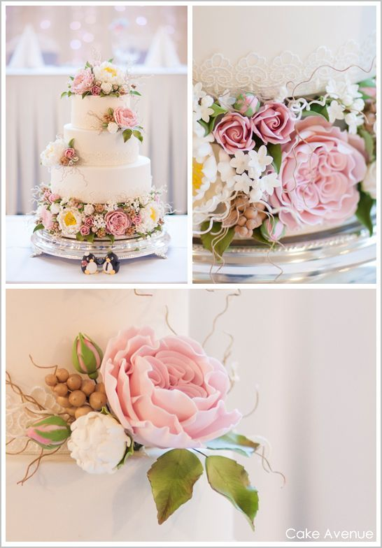 decorating wedding cakes with sugar flowers 17 best images about cake decorating ideas on 13418