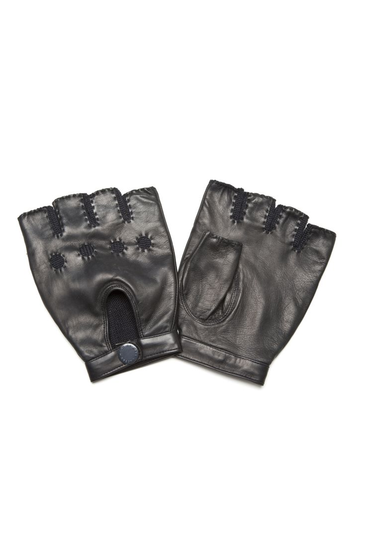 Fingerless leather gloves mens accessories - Fingerless Leather Gloves