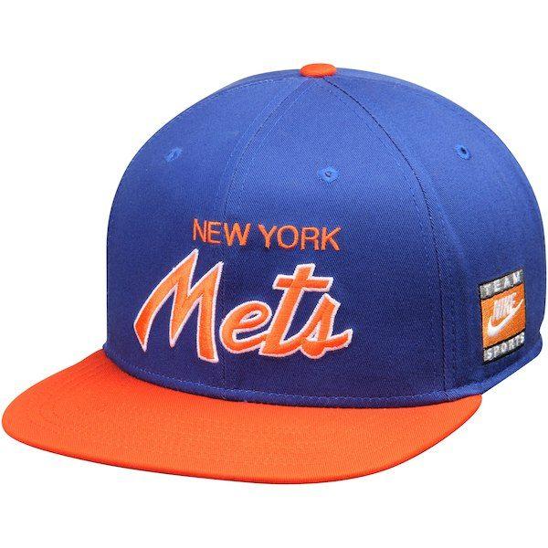 a2f638cc ... reduced new york mets nike snapback script adjustable hat royal orange  newyorkmets 17bb9 9392f
