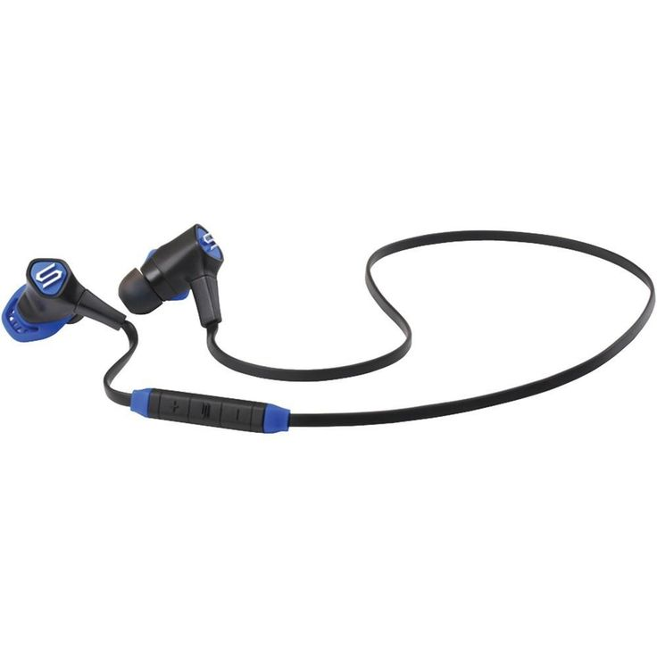 SOUL 81970459 Run Free Pro Wireless Bluetooth(R) In-Ear Headphones with Microphone (Electric Blue)