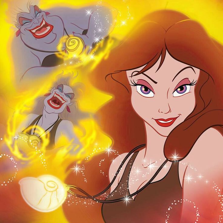 Vanessa Ursula S Human Alter Ego Reverted Back To The 3rd Day Little Mermaidthe