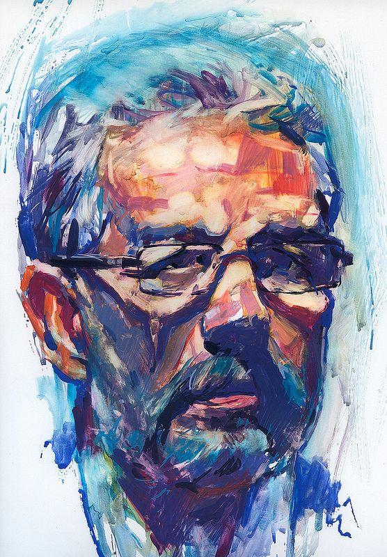 Gouache. Portrait | por Salazar- art