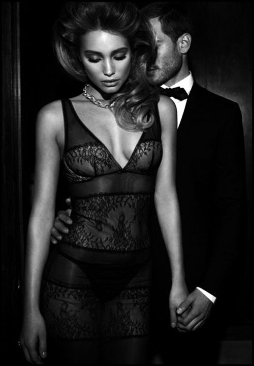 beautiful... love both the dress and the couples pose, tender fingers wrapped together and his hand around her waist