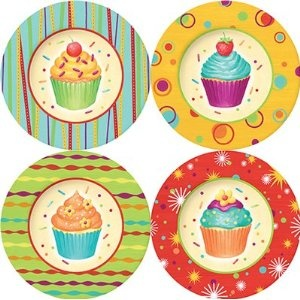 Cupcakes plates  sc 1 st  Pinterest & 659 best Everything Cupcake: images on Pinterest | Cookie jars ...