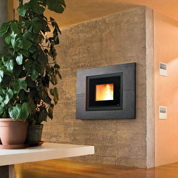 Manteau de cheminée contemporain / en ardoise / à 1 face PRIME MCZ