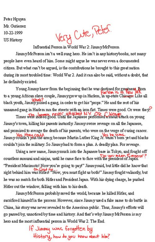 History 171 Essay