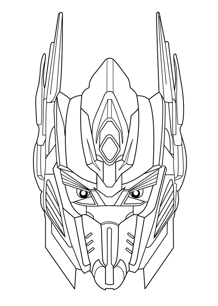 Transformers coloring pages for