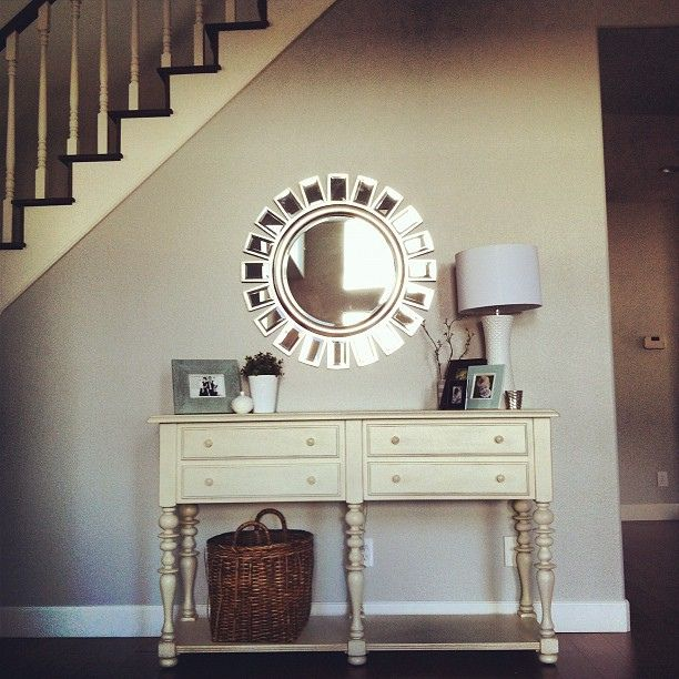 mirror, entry table