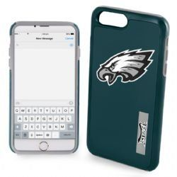 """Philadelphia Eagles Impact TPU 2-Piece Dual Hybrid iPhone 8 PLUS / iPhone 7 PLUS / iPhone 6/6s PLUS - 5.5"""" Screen ONLY  http://allstarsportsfan.com/product/philadelphia-eagles-impact-tpu-2-piece-dual-hybrid-iphone-8-plus-iphone-7-plus-iphone-66s-plus-5-5-screen-only/  For iPhone 8 PLUS (5.5″ Screen ONLY) Backwards Compatible with BOTH the iPhone 7 PLUS and iPhone 6/6s PLUS Double layered case for extra protection"""