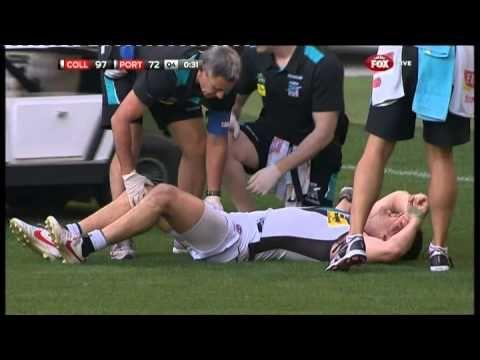Robbie Gray's sickening injury - AFL
