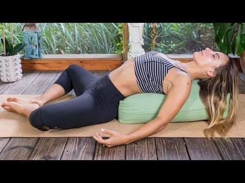 Bedtime Yoga: 20 Minute Video for the Ultimate Sleep - The Journey Junkie