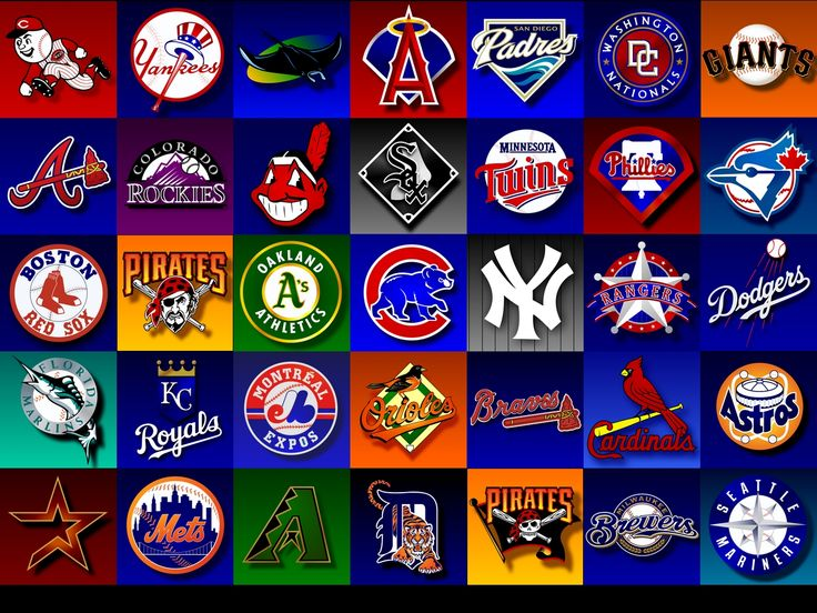 Best Baseball Images On Pinterest Mlb Teams Sports Logos And - Us map of baseball stadiums outline
