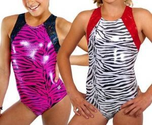 Snowflake Leotards Safari Gymnastics Leotard