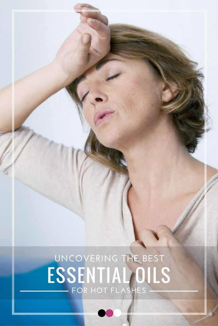 Here's to uncovering the best essential oils for hot flashes relief!