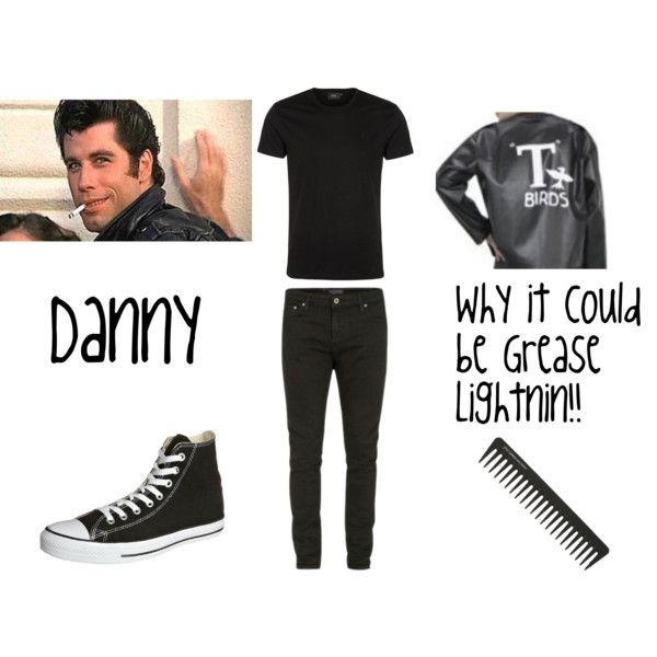 Grease Inspired Outfits #5: Danny Zuko by pkmnmaster24601 - Polyvore