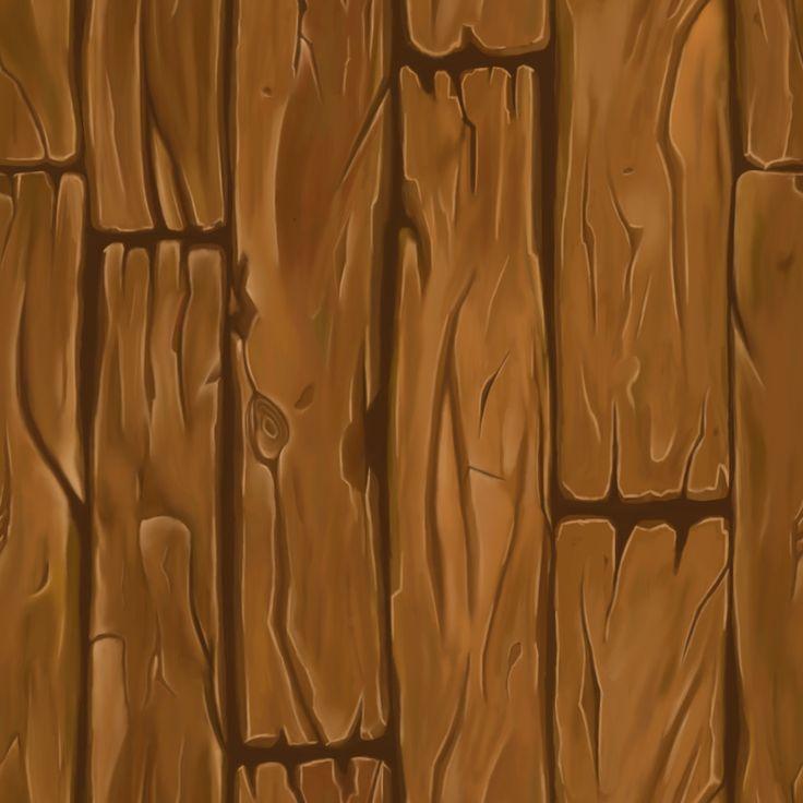 ArtStation - Handpainted Wood Planks Texture, Delyan Farashev