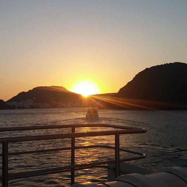 #Sunset at #Patmos #Greece Photo by:  @edip.pamukcu