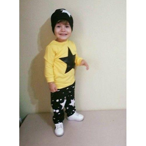 Ertuğ Yıldızlı Erkek Çocuk Takımı Sarı 39,95 TL ile n11.com'da! Erdem Takım Elbise fiyatı ve özellikleri, Çocuk Giyim