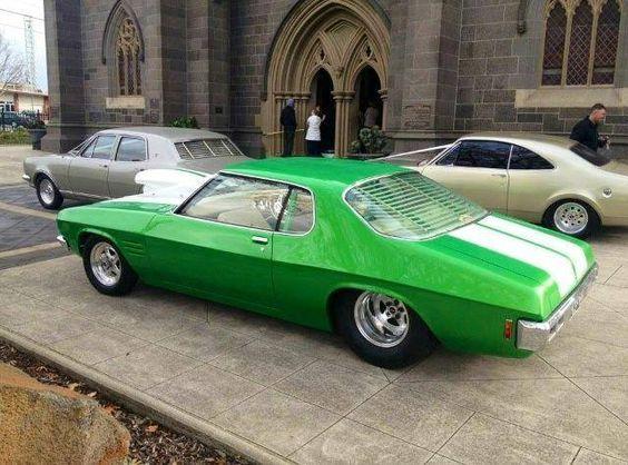 ◆ Visit MACHINE Shop Café... ◆ ~ Aussie Custom Cars & Bikes ~ 1971 HQ Holden Monaro Coupé