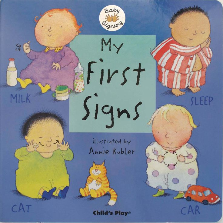 MY FIRST SIGNS Children are able to communicate by signing before they develop the skills necessary for speech. By teaching sign language to children from as young as seven months we can help them to convey emotions and needs. This first signing guide for hearing and deaf children contains over 40 key signs. Designed for parents and carers to share with babies, with its simple and clear instructions and endearing illustrations, this book is an ideal introduction to signing. Makaton…