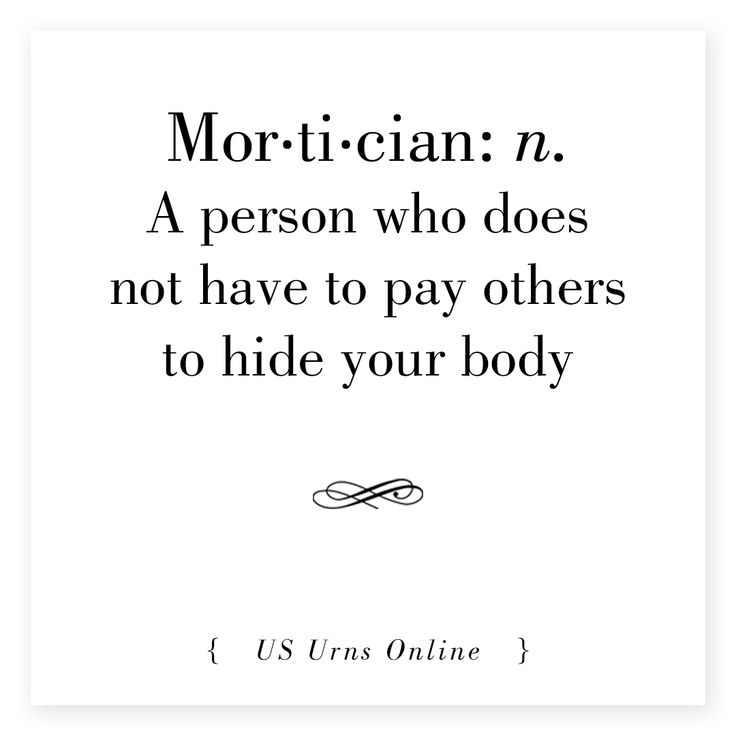 mortician #definition #humor #embalmer #funeral #director - mortician job description